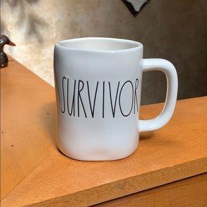 Rae Dunn SURVIVOR Mug